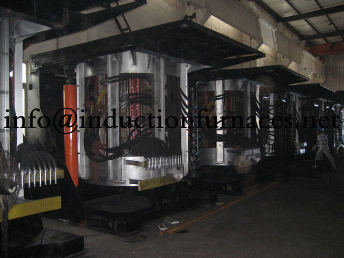 Coreless induction furnace